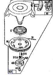 Briggs Rewind Starter Part No 802505