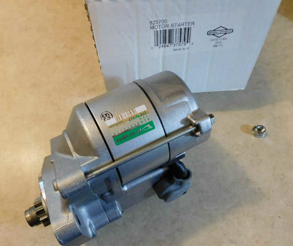 Briggs & Stratton Electric Starter Part No. 825700