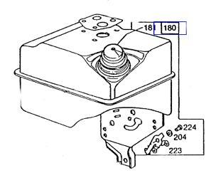 Briggs Stratton Fuel Tank Part No 494600