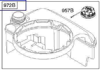 Briggs Stratton Fuel Tank Part No 699387