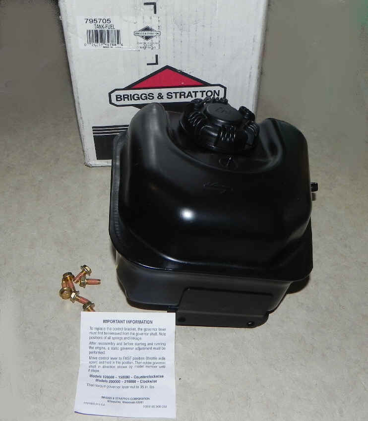 Briggs Stratton Fuel Tank Part No 795705