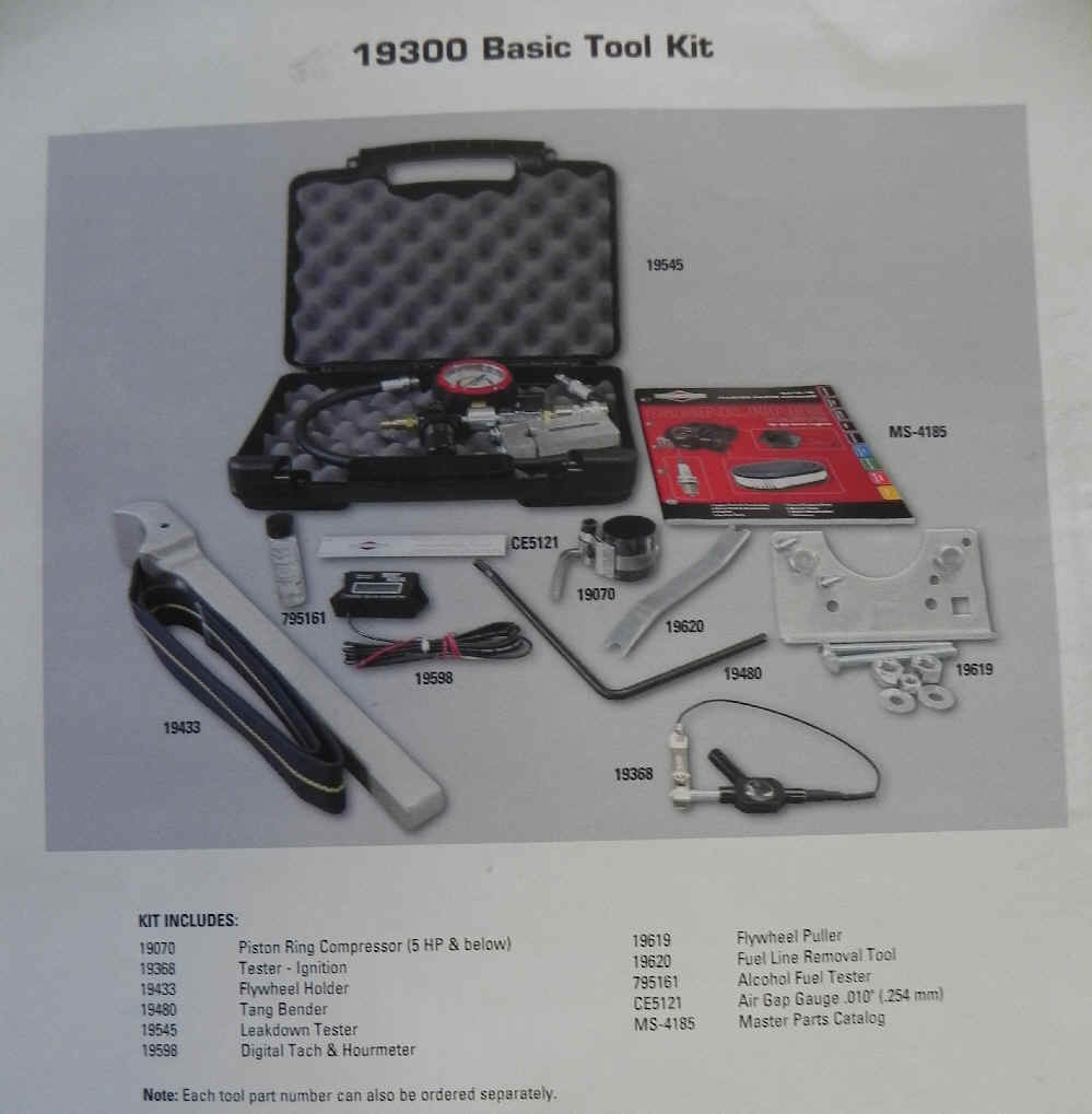 Tools, Repair Manuals and Parts