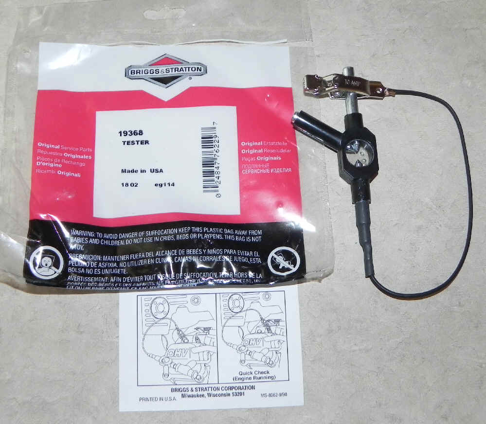 84003327 Ignition Tester