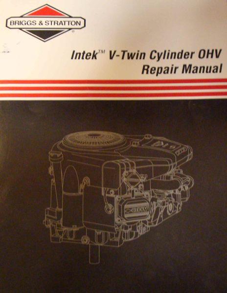 Briggs Repair Manual Part No 273521