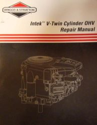 Briggs Repair Manual Part No 273521
