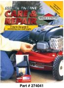 CE8155 Small Engine Care & Repair Book