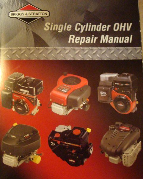 Briggs Repair Manual Part No 276781