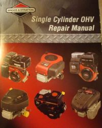 Briggs Repair Manual Part No 276781