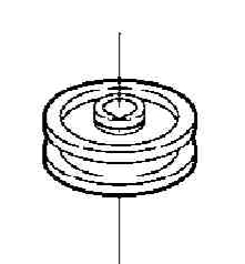 Idler Pulley Part No 78-005