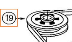Drive Pulley Part No 78-642