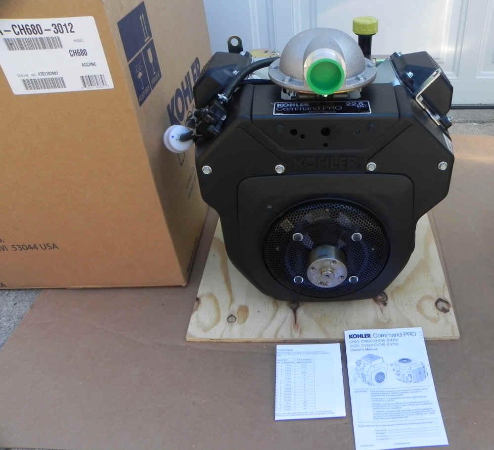Kohler PA-CH680-3012 22.5 HP WALKER ZTR