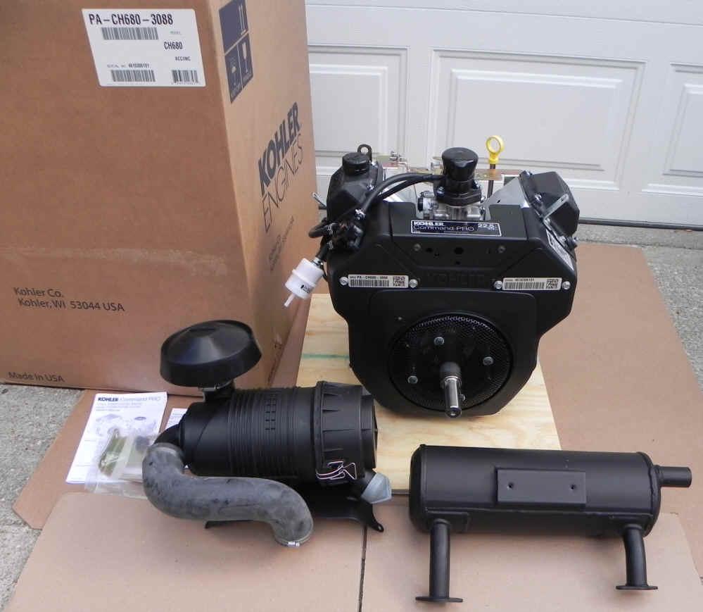 Kohler CH682-3013 22.5 HP Command Twin Cylinder Moridge ZTR