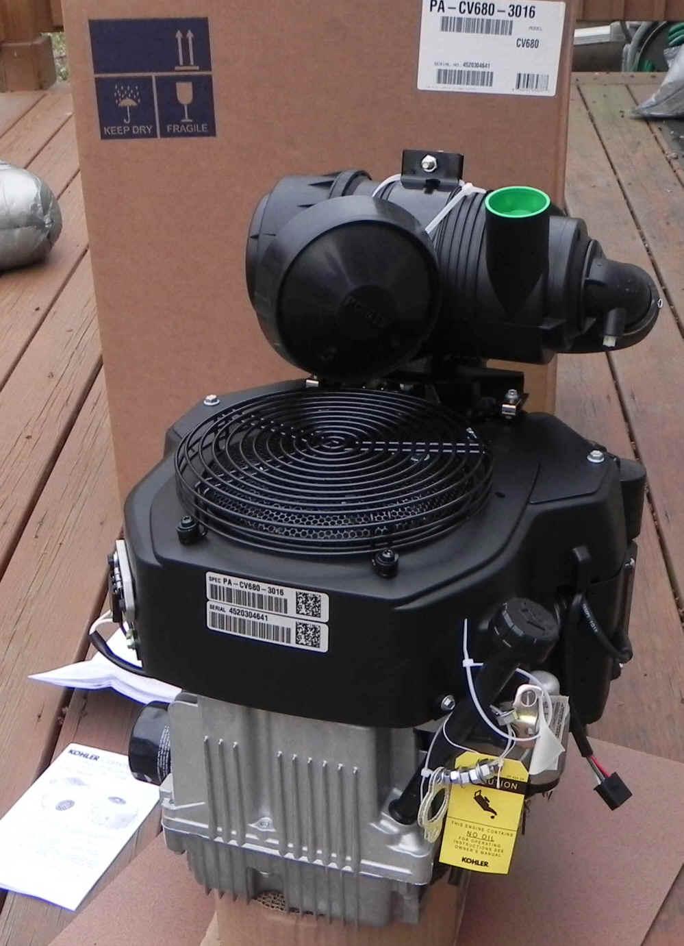 Kohler CV680-3016 23 HP PA-CV680-3016 EXMARK LASER HP - COMMERCIAL RIDER