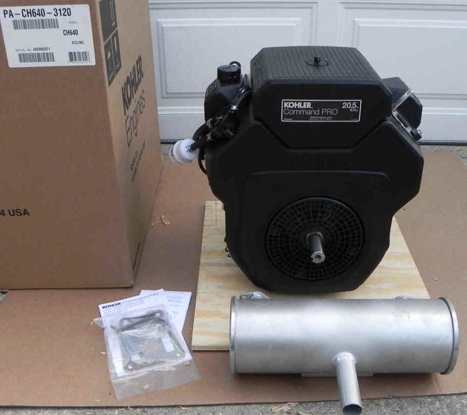 Kohler CH640-3120 fka CH20S-64519 20.5 HP CH20S GARDNER-TERRAMITE (BACKHOE)