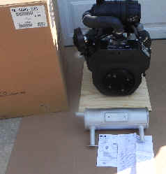 Kohler CH640-3150 20.5 HP Command Twin Moridge ZTR Engine