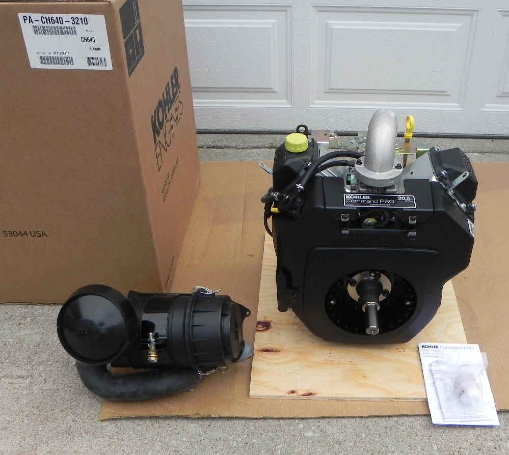 Kohler CH640-3210 E3 Charles Machine SK350 ** Backordered
