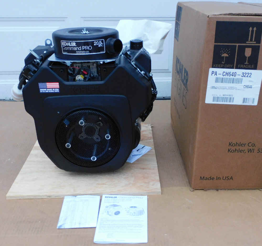 Kohler CH640-3222 20.5 HP Command Twin Cylinder