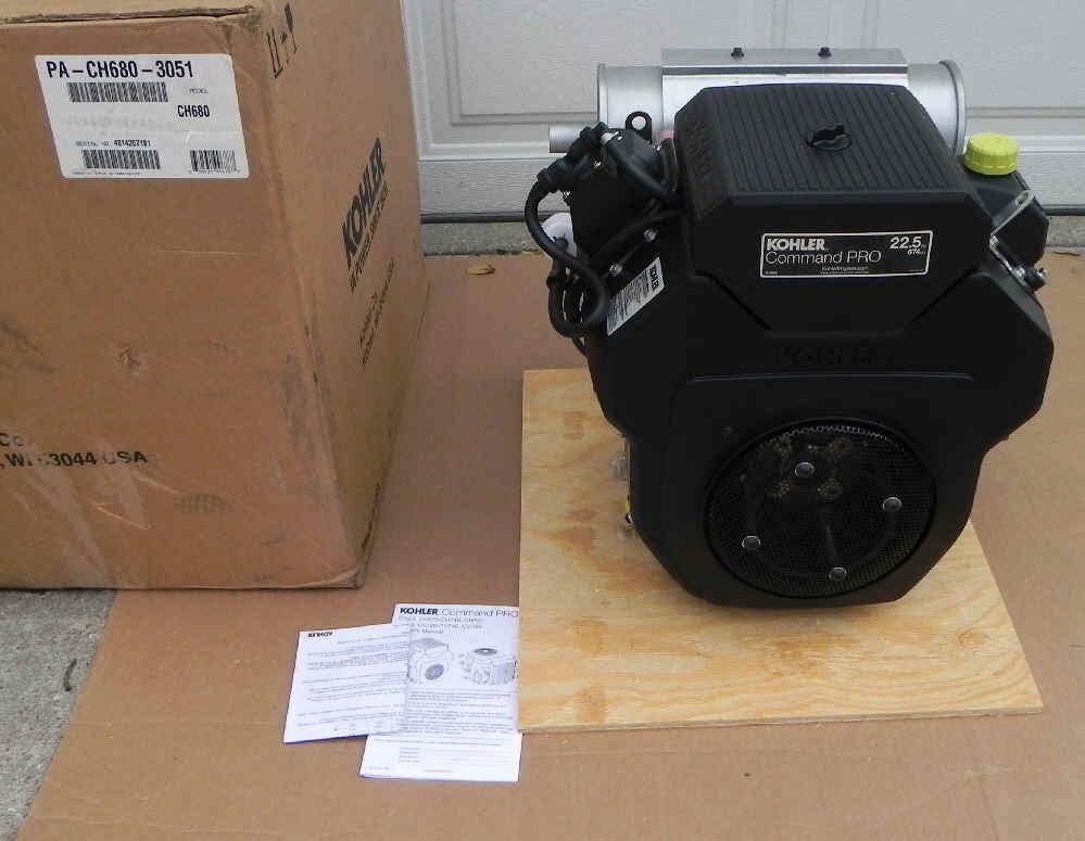 Kohler CH680-3051 22.5 HP SCAG SST Turf Tiger