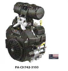 Kohler CH742-3100 25 HP Supersedes CH740-3002 Command Series Twin Cylinder