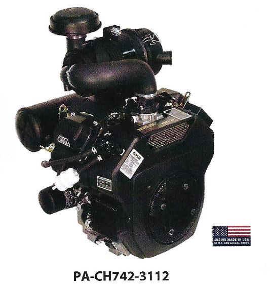 Kohler CH742-3112 25 HP Moridge M27 ZTR