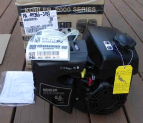 Kohler RH265-3103 6.5 HP Courage Go Kart engine