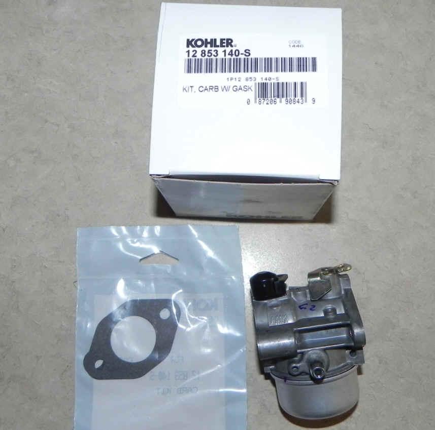 Kohler Carburetor - Part No. 12 853 140-S