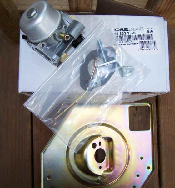 Kohler Carburetor - Part No. 12 853 33-S