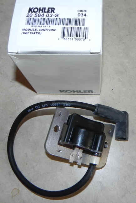 Kohler Ignition Coil Part No. 20 584 03-S