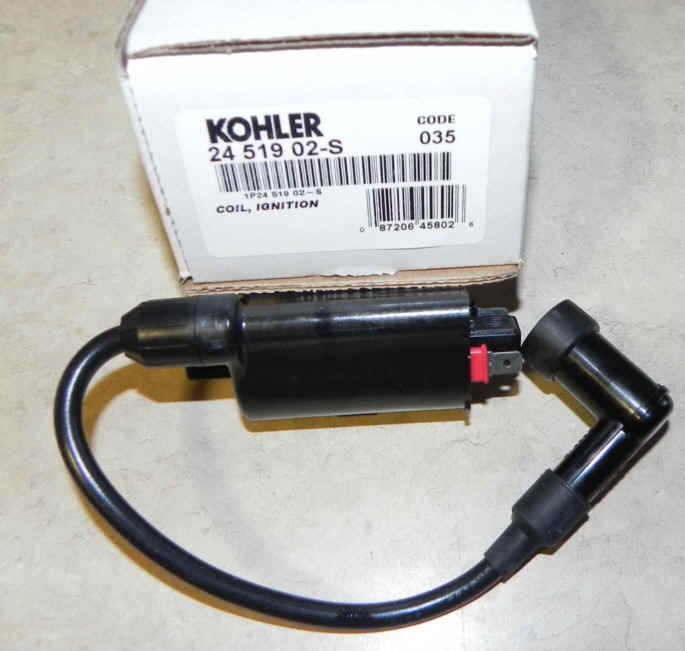 Kohler Ignition Coil Part No. 24 519 02-S