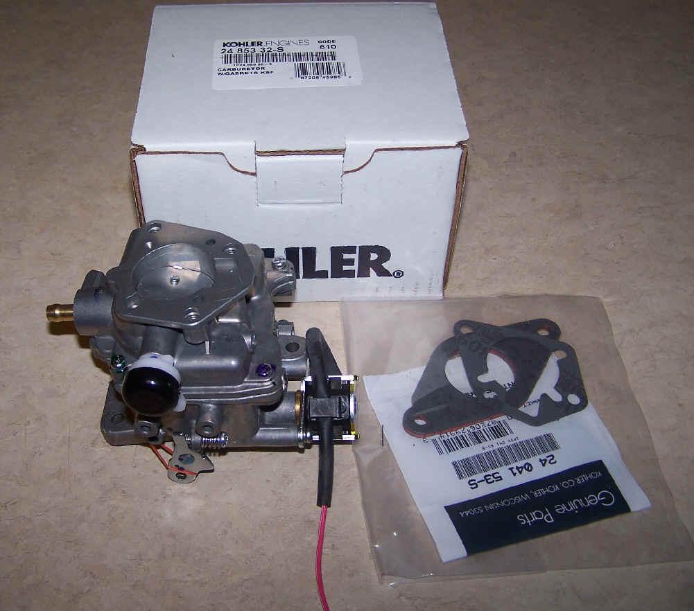 Kohler Carburetor - Part No. 24 853 32-S