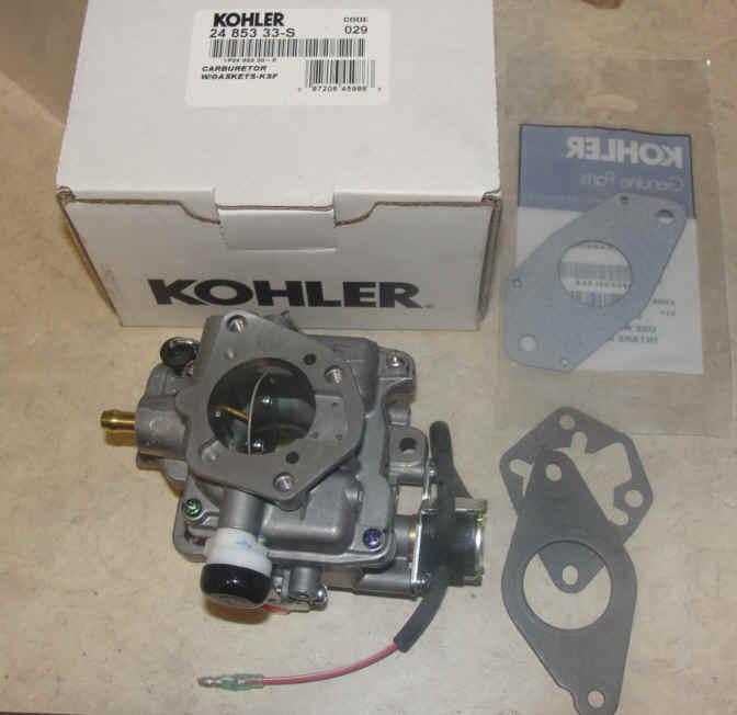 Kohler Carburetor - Part No  24 853 33-S