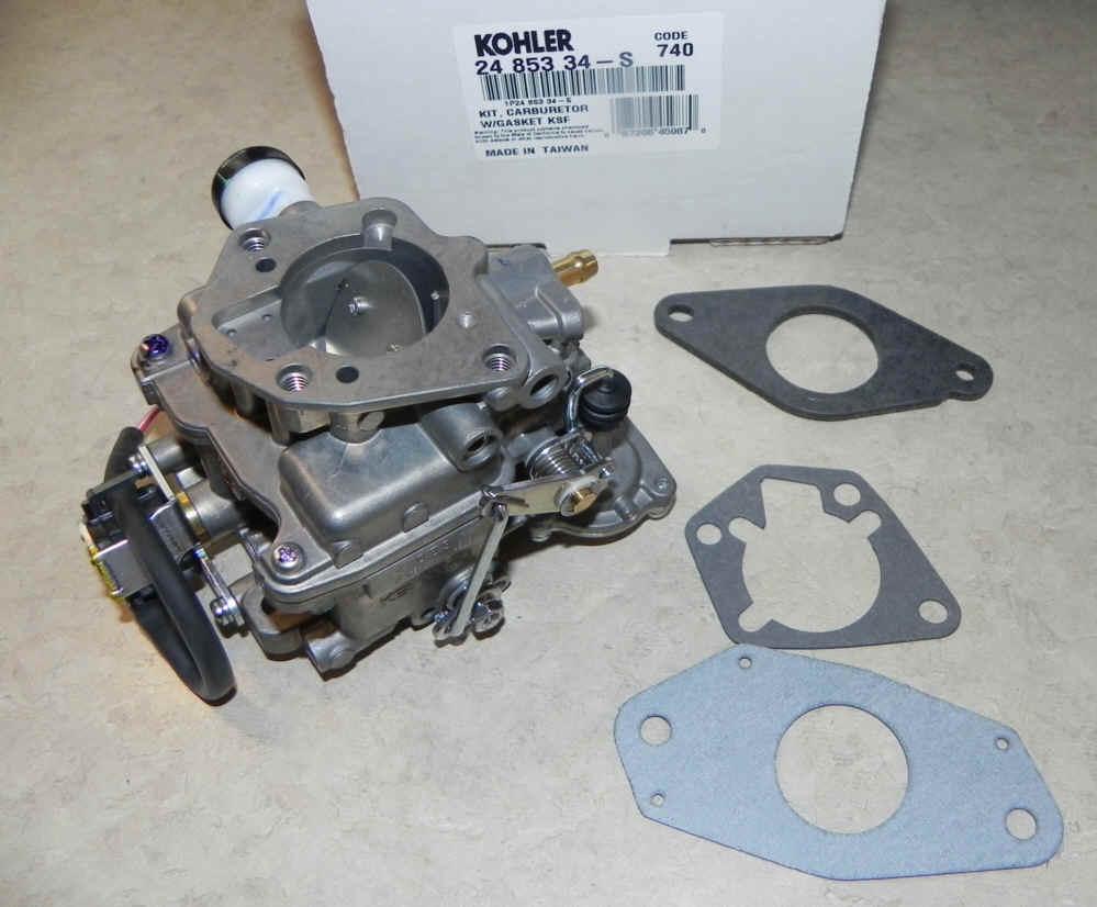 Kohler Carburetor - Part No. 24 853 34-S