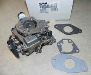 Kohler Carburetor - Part No. 24 853 34-S