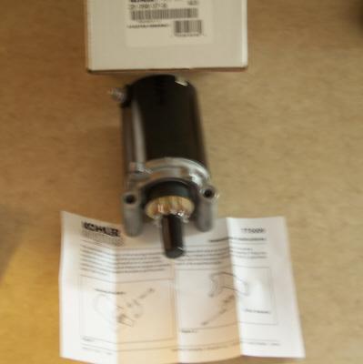 Kohler Electric Starter - Part Number 25 098 07-S