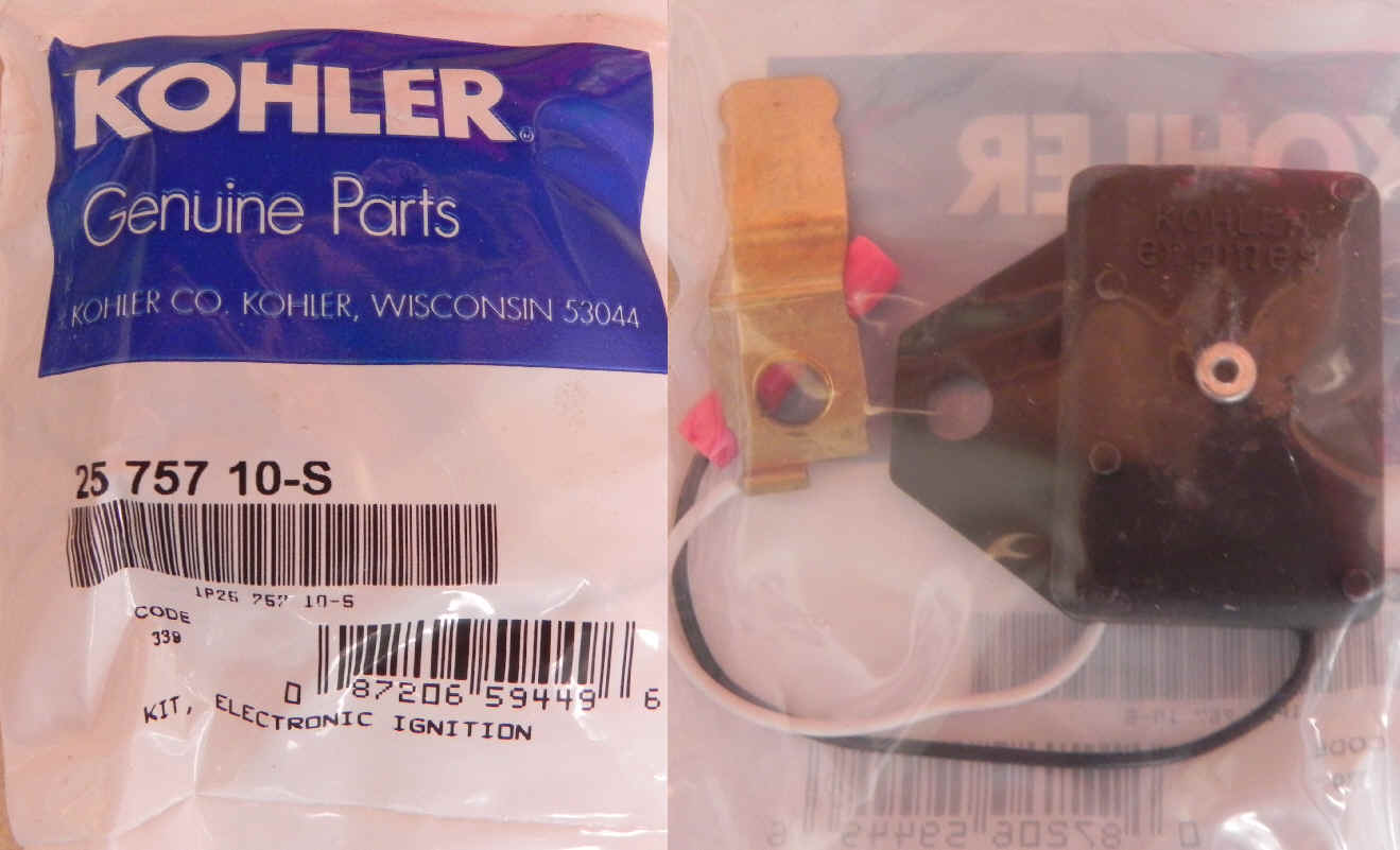 Kohler Electronic Ignition Kit 25 757 10-S