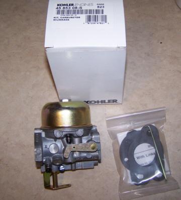 Kohler Carburetor - Part No. 45 853 08-S