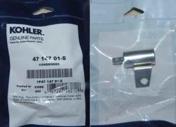 Kohler Condenser 47 147 01-S