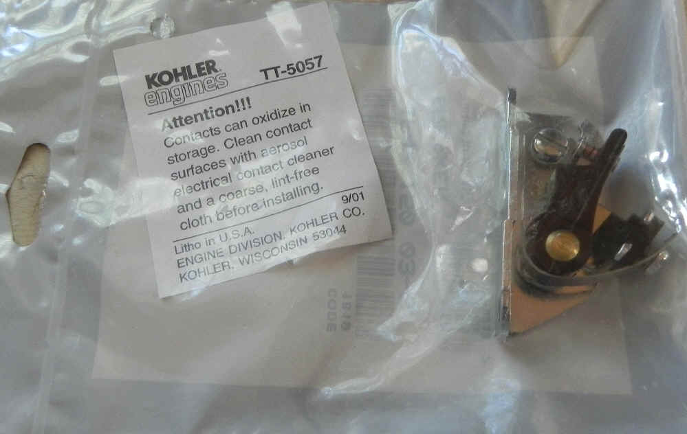 Kohler Breaker Points 47 150 03-S