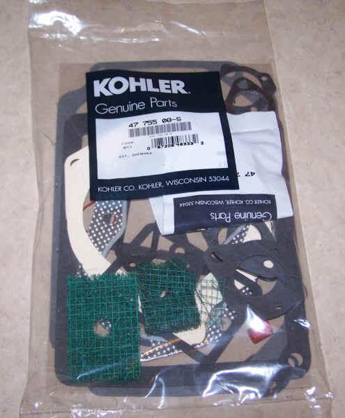 Kohler Gasket Set - Part No. 47 755 08-S