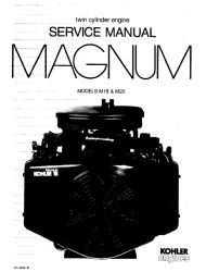 Kohler Service Manual TP-2204-B For M18-20 Engines