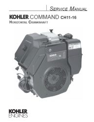 Kohler Service Manual TP-2402-A For CH11-16 Engines