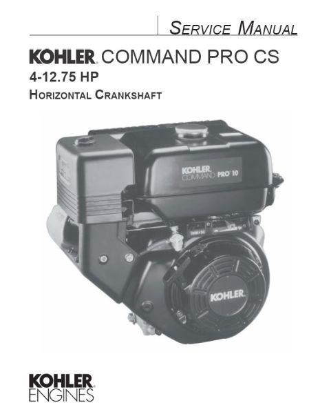 Kohler Service Manual 63 690 01 For CS4-12 Engines