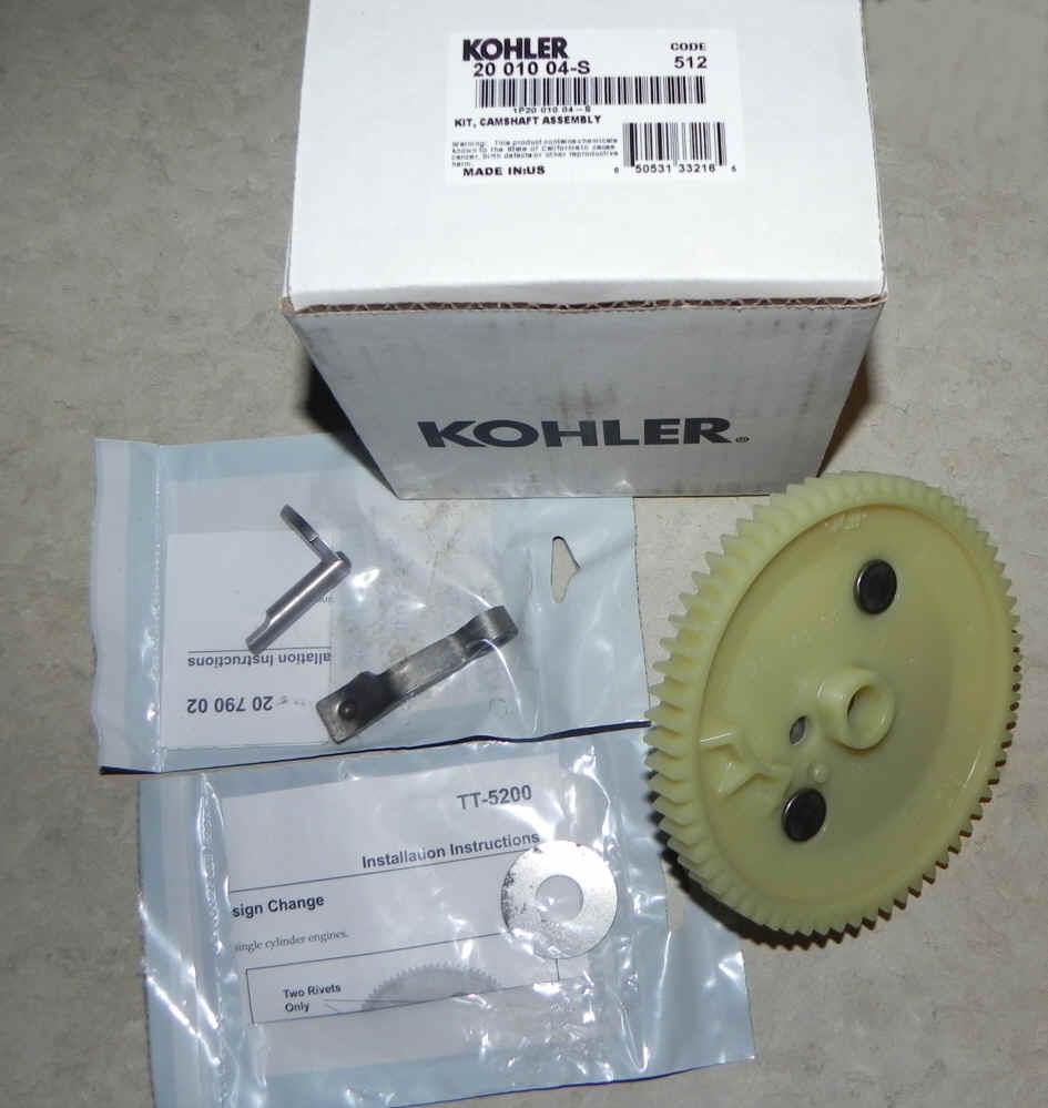 Kohler Camshaft - Part No. 20 010 04-S