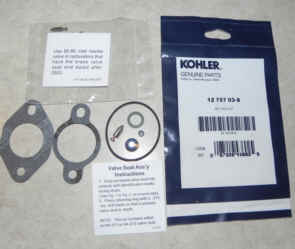 Kohler Carburetor Repair Kit 12 757 03-S