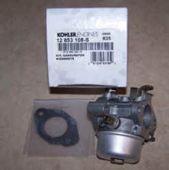 Kohler Carburetor - Part No. 12 853 108-S