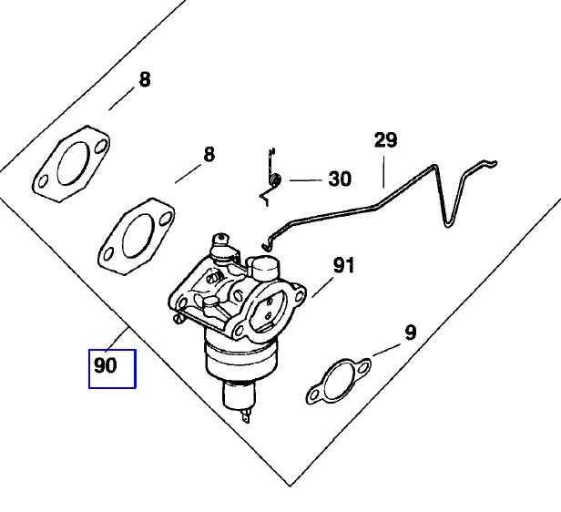 Kohler Carburetor - Part No. 12 853 109-S