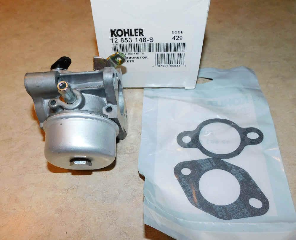 Kohler Carburetor - Part No. 12 853 148-S