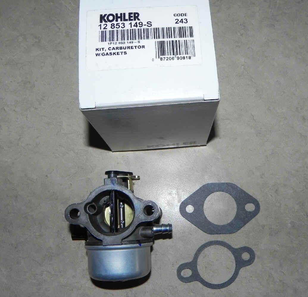 Kohler Carburetor - Part No. 12 853 149-S