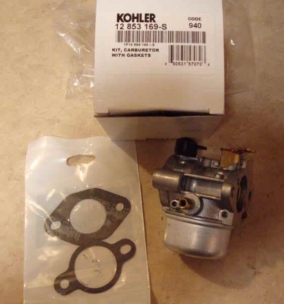 Kohler Carburetor - Part No. 12 853 169-S