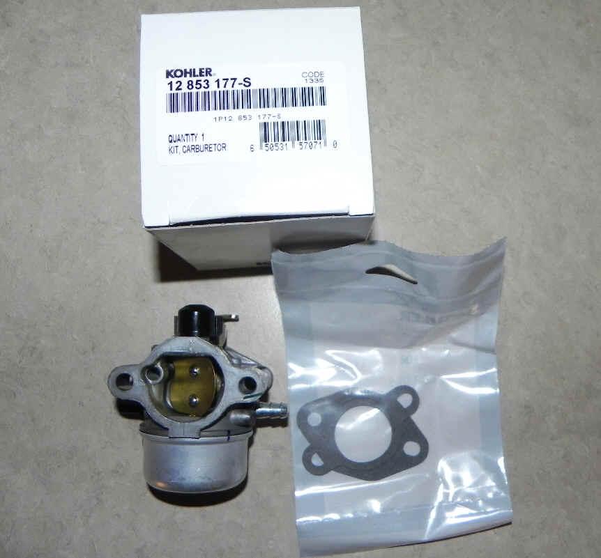 Kohler Carburetor - Part No. 12 853 177-S FKA 12 853 159-S